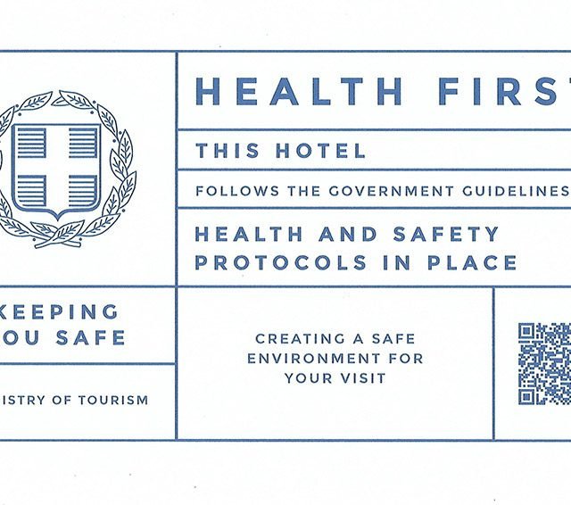 Health guidelines of Pirrion hotel for COVID-19